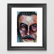 Brosef Framed Art Print