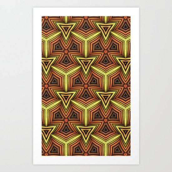 Pattern 040313-2 Art Print