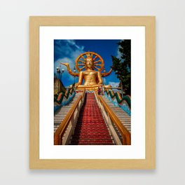 Big Buddha Samui Framed Art Print