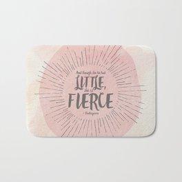 FIERCE - PINK Bath Mat