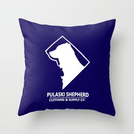 Washingtonian Throw Pillow