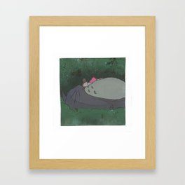 to to ro nap Framed Art Print