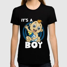 IT S A BOY Baby Birth funny cute happy gift comic T-shirt
