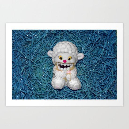 Lamby Art Print