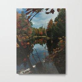 New York Fall Metal Print