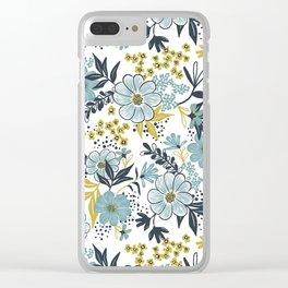 Harper - Dusk Blue Clear iPhone Case