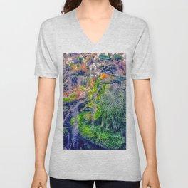 Tropical Garden Unisex V-Neck