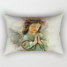 An Angels Love Rectangular Pillow