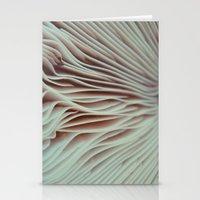 mushroom Stationery Cards featuring Mushroom by Madison Pethel