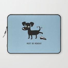 Must Be Monday, Dog Laptop Sleeve