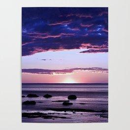 Coastal Sunset Sainte-Anne-Des-Monts Poster