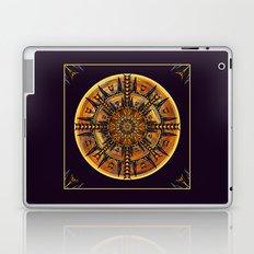 Hieroglyph Moth Mandala 3 Laptop & iPad Skin