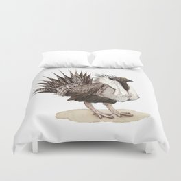 Greater Sage-Grouse Duvet Cover