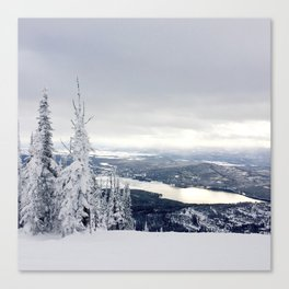 Explore Whitefish Canvas Print