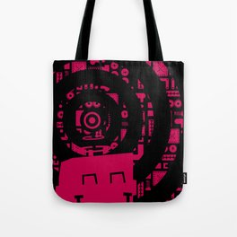 Little Robot  Tote Bag