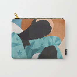 Abstract Art Girl Carry-All Pouch