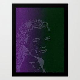 Janie  Art Print
