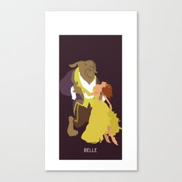 TRAGIK END BELLE Canvas Print