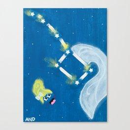 Big Dipper Sipper Canvas Print