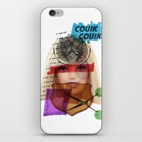 barbie iPhone & iPod Skins featuring Barbie by benjamin chaubard