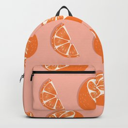 Orange pattern 03 Backpack