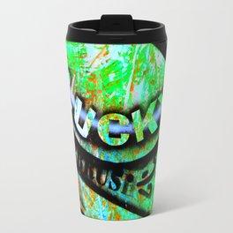 Lucky goes pop n10 Travel Mug