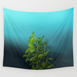 Shy and charming basil Wall Tapestry