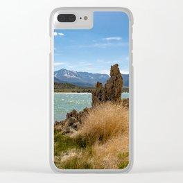 Mono Lake California - II Clear iPhone Case
