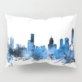 Melbourne Australia Skyline Pillow Sham