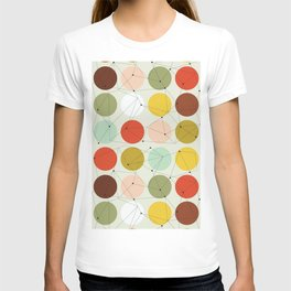 Earth Tone Connect Dots  T-shirt