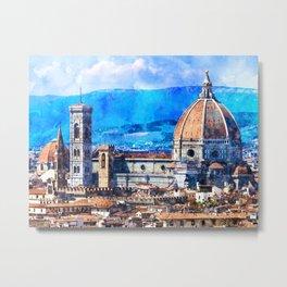 Florence, Italy Metal Print