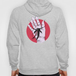 Disturbing Itch - Hand Biting Flower Monster Hoody