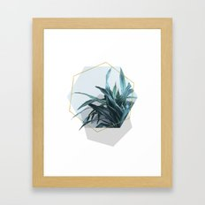 Geometric Jungle Framed Art Print