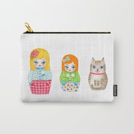 Three little dolls Carry-All Pouch