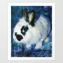 Rabbit art Art Print