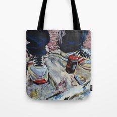 illegal street-art-worker Tote Bag