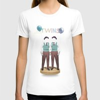 twins T-shirts featuring TWINS by Nazario Graziano