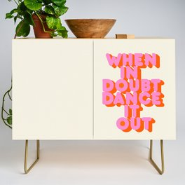 Dance it out Credenza