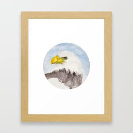 Watch out! Framed Art Print