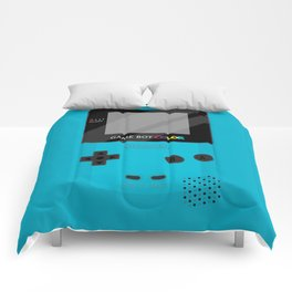 Gameboy Color - Teal Comforters