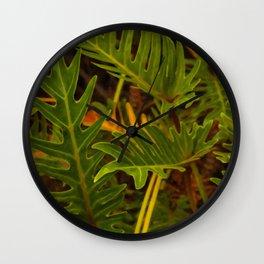 Floral prints 001 Wall Clock