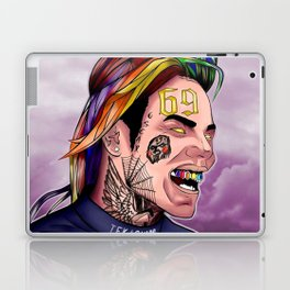 6ix9ine--Paint II Laptop & iPad Skin