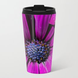 Purple Osteospermum Flower Travel Mug