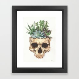 From Death Grows Life Framed Art Print