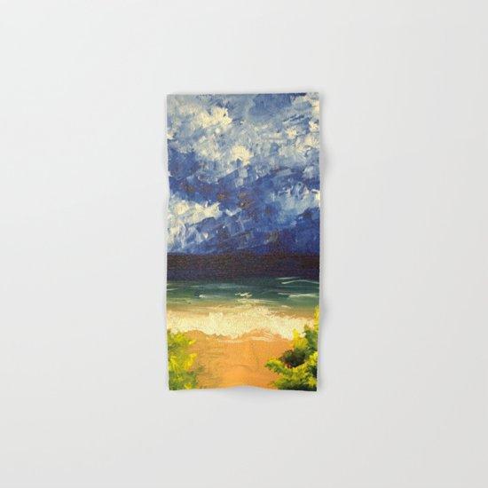 Blue Ocean Hand & Bath Towel