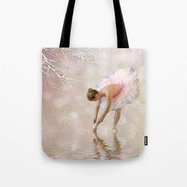 Dancer in Water Tote Bag