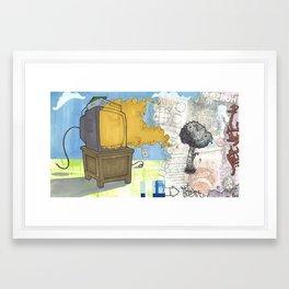 Get Outside Framed Art Print