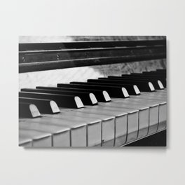 Life is like a piano Metal Print
