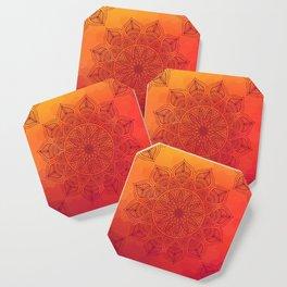 Sun Mandala Coaster