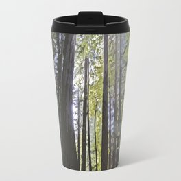 Sunlight through the trees Travel Mug